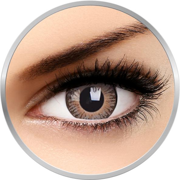 3 Tones Brown – lentile de contact colorate caprui trimestriale – 90 purtari (2 lentile/cutie) brand ColourVUE cu comanda online