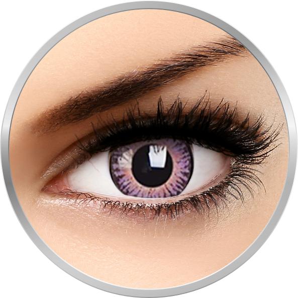 3 Tones Violet – lentile de contact colorate violet trimestriale – 90 purtari (2 lentile/cutie) brand ColourVUE cu comanda online
