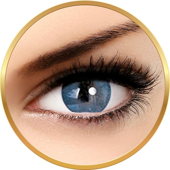 Adore Bi Tone Blue – lentile de contact colorate albastre trimestriale – 90 purtari (2 lentile/cutie) brand Adore cu comanda online