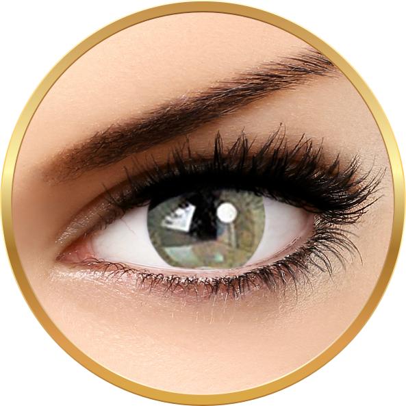 Adore Bi Tone Yellow – lentile de contact colorate verzi/caprui trimestriale – 90 purtari (2 lentile/cutie) brand Adore cu comanda online