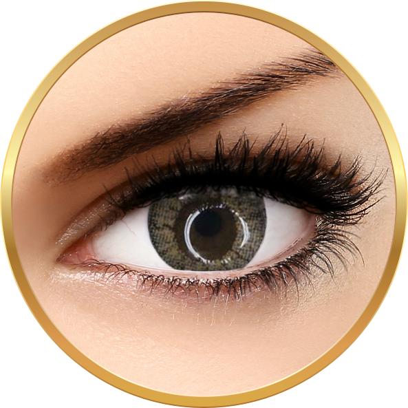 Adore Crystal Light Grey- lentile de contact colorate gri trimestriale – 90 purtari (2 lentile/cutie) brand Adore cu comanda online