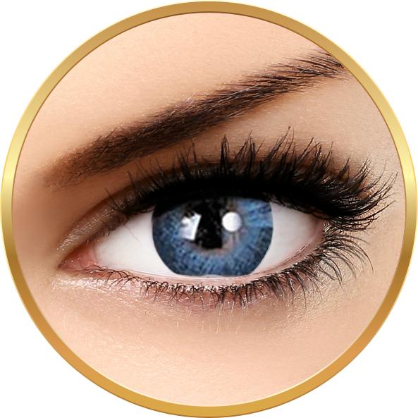 Adore Dare Aqua – lentile de contact colorate albastre trimestriale – 90 purtari (2 lentile/cutie) brand Adore cu comanda online