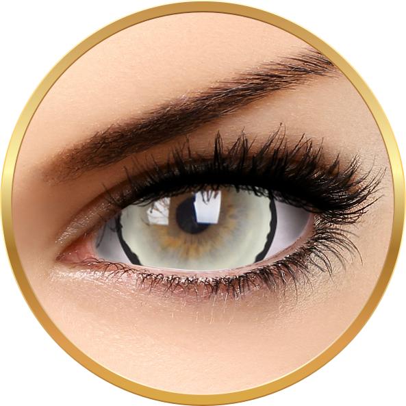 Crazy Venus – lentile de contact colorate albe anuale – 360 purtari (2 lentile/cutie) brand ColourVUE cu comanda online