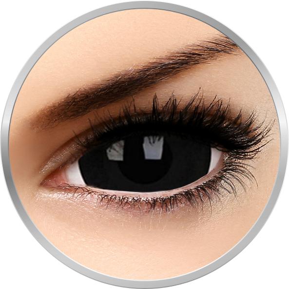 Fancy Black Titan – lentile de contact colorate negre anuale – 360 purtari (2 lentile/cutie) brand Phantasee cu comanda online