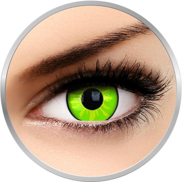 Fancy Rogue – lentile de contact colorate verzi anuale – 360 purtari (2 lentile/cutie) brand Phantasee cu comanda online
