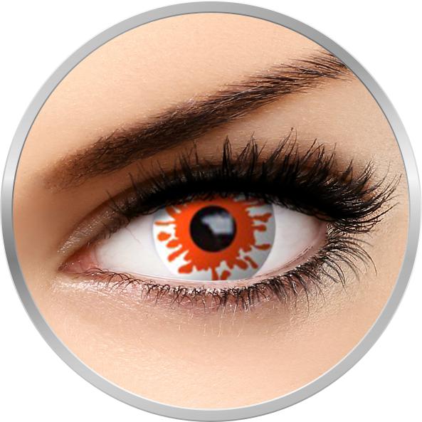 Fantaisie Blast – lentile de contact pentru Halloween anuale – 365 purtari (2 lentile/cutie) brand AuvaVision cu comanda online