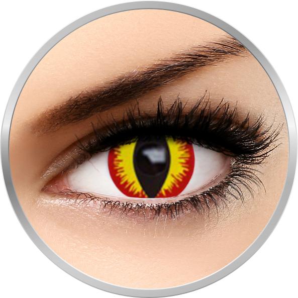 Fantaisie Devil – lentile de contact pentru Halloween anuale – 365 purtari (2 lentile/cutie) brand AuvaVision cu comanda online