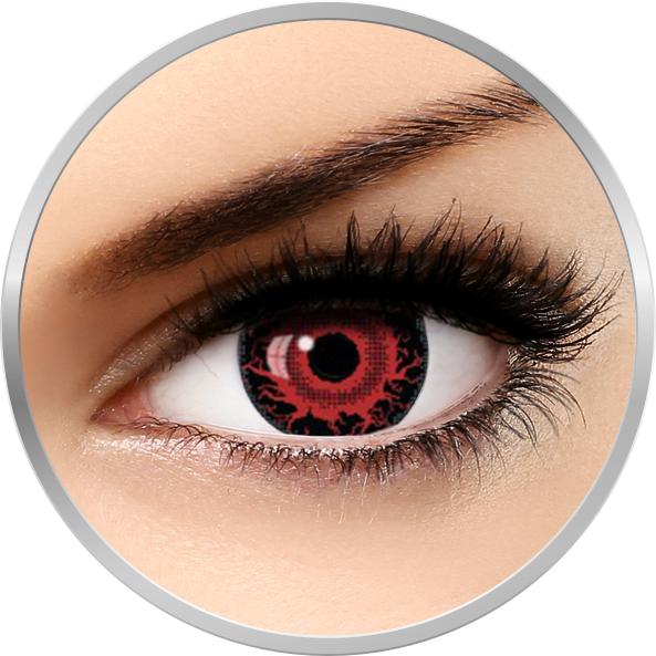 Fantaisie Mini Sclera Halloween – lentile de contact pentru Halloween anuale – 365 purtari (2 lentile/cutie) brand AuvaVision cu comanda online