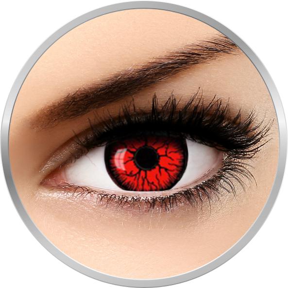Fantaisie Resident Evil – lentile de contact pentru Halloween anuale – 365 purtari (2 lentile/cutie) brand AuvaVision cu comanda online