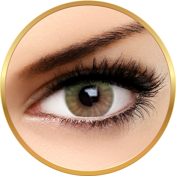 Fashion Lentilles Green Touch – lentile de contact pentru Halloween anuale – 365 purtari (2 lentile/cutie) brand AuvaVision cu comanda online