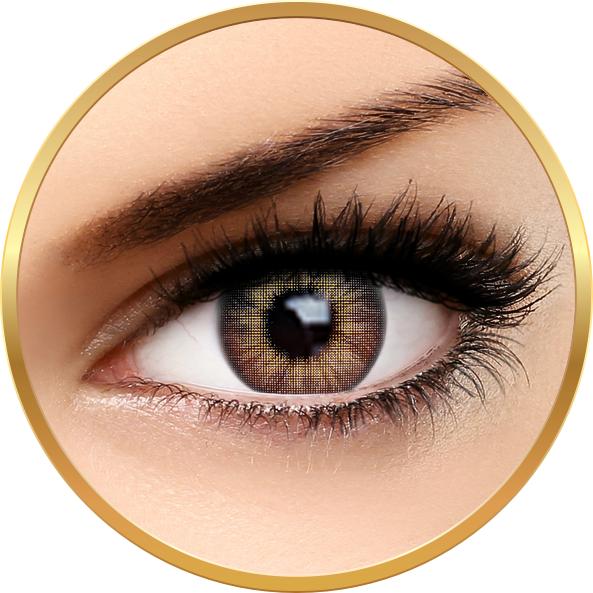 Fashion Lentilles Trendy Gray – lentile de contact pentru Halloween anuale – 365 purtari (2 lentile/cutie) brand AuvaVision cu comanda online