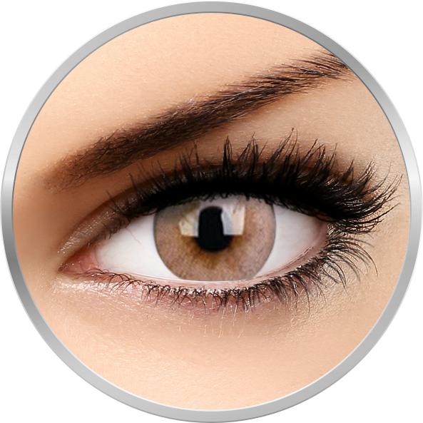 Fizzy Signature Brown – lentile de contact colorate caprui lunare – 30 purtari (2 lentile/cutie) brand ColourVUE cu comanda online
