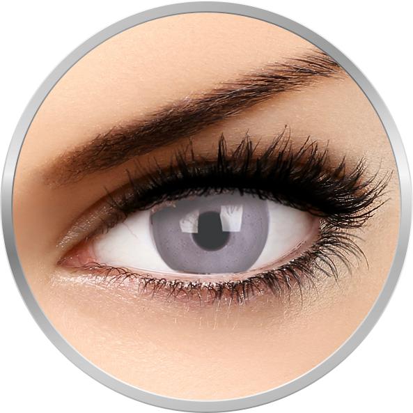 Fizzy Soft Grey – lentile de contact colorate gri lunare – 30 purtari (2 lentile/cutie) brand ColourVUE cu comanda online