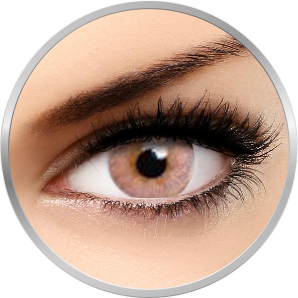 Flash Elixor Sienna Brown – lentile de contact colorate caprui 90 de purtari (2 lentile/cutie) brand Phantasee cu comanda online