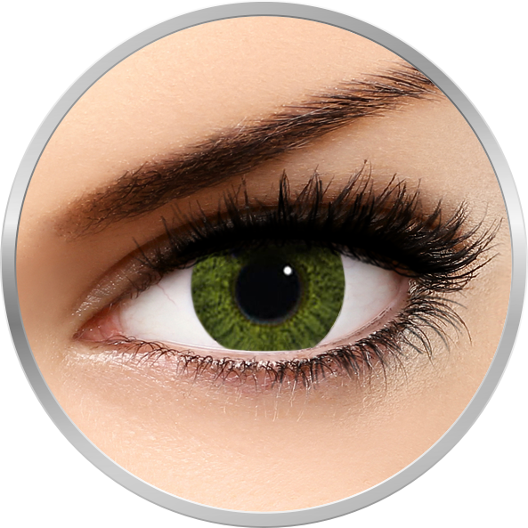 Freshlook Colorblends Gemstone Green – lentile de contact colorate verzi lunare – 30 purtari (2 lentile/cutie) brand Alcon/CibaVision cu comanda online