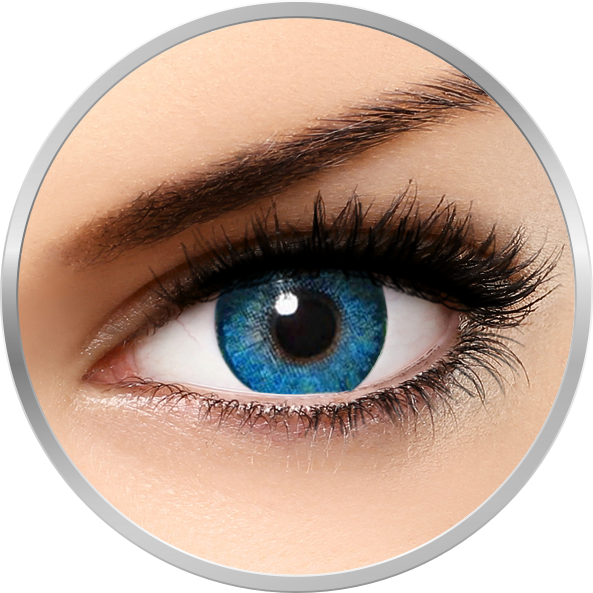 Freshlook Dimensions Pacific Blue – lentile de contact colorate albastre lunare – 30 purtari (2 lentile/cutie) brand Alcon/CibaVision cu comanda online