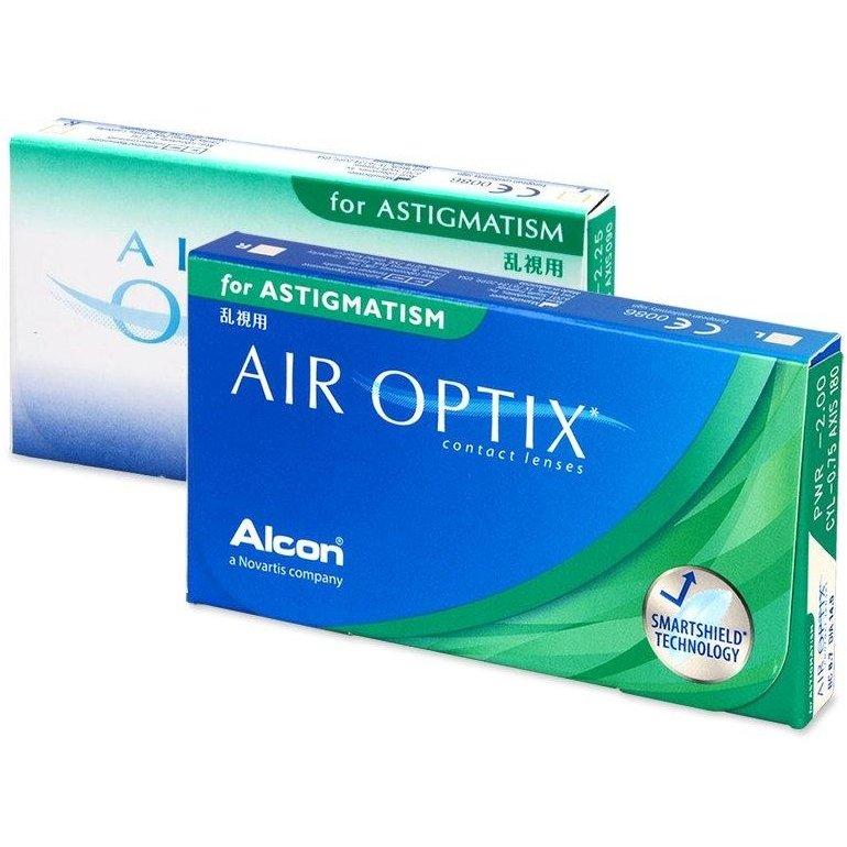 Lentile de contact cu dioptrii Alcon / Ciba Vision Air Optix for Astigmatism lunare 3 lentile / cutie cu comanda online