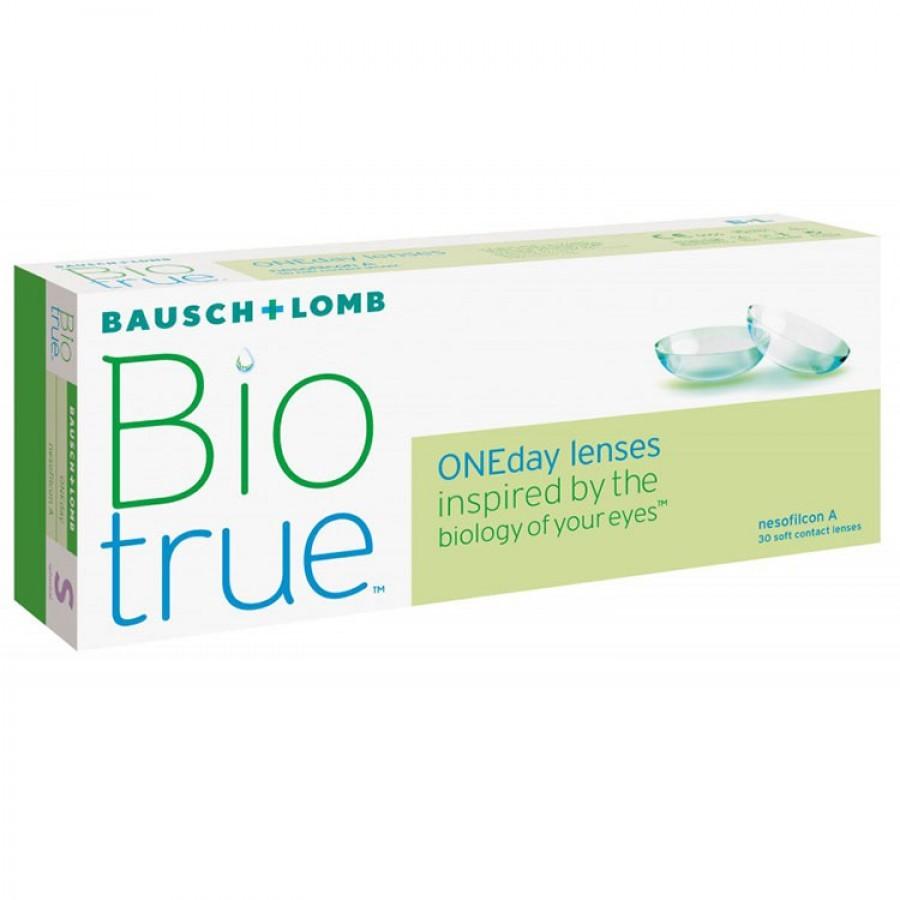 Lentile de contact cu dioptrii Bausch & Lomb Biotrue One Day – 30 lentile / cutie cu comanda online