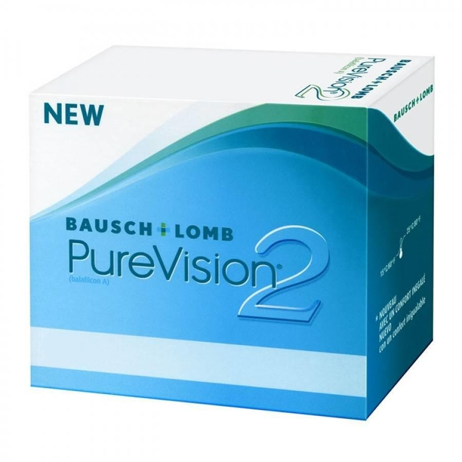 Lentile de contact cu dioptrii Bausch & Lomb Pure Vision 2HD lunare – 1 lentila terapeutica cu comanda online
