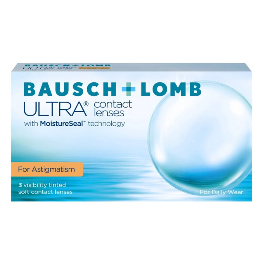 Lentile de contact cu dioptrii Bausch & Lomb ULTRA for Astigmatism lunare – 3 lentile / cutie cu comanda online