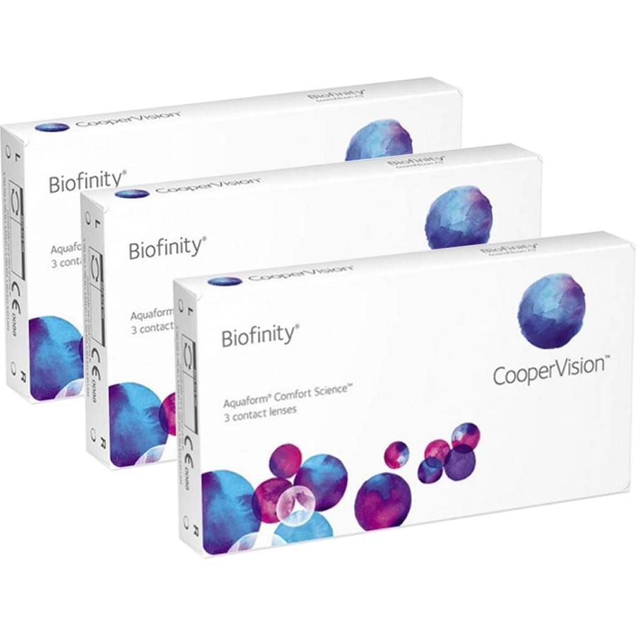 Lentile de contact cu dioptrii Cooper Vision Biofinity lunare 3 x 3 lentile / cutie cu comanda online