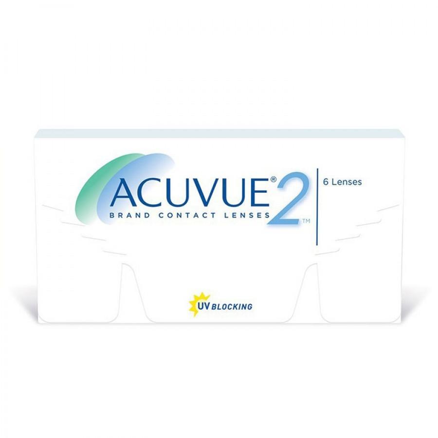 Lentile de contact cu dioptrii Johnson&Johnson Acuvue 2 saptamanale 6 lentile / cutie cu comanda online