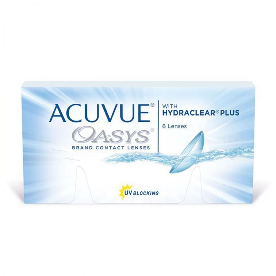 Lentile de contact cu dioptrii Johnson&Johnson Acuvue Oasys saptamanale 6 lentile / cutie cu comanda online