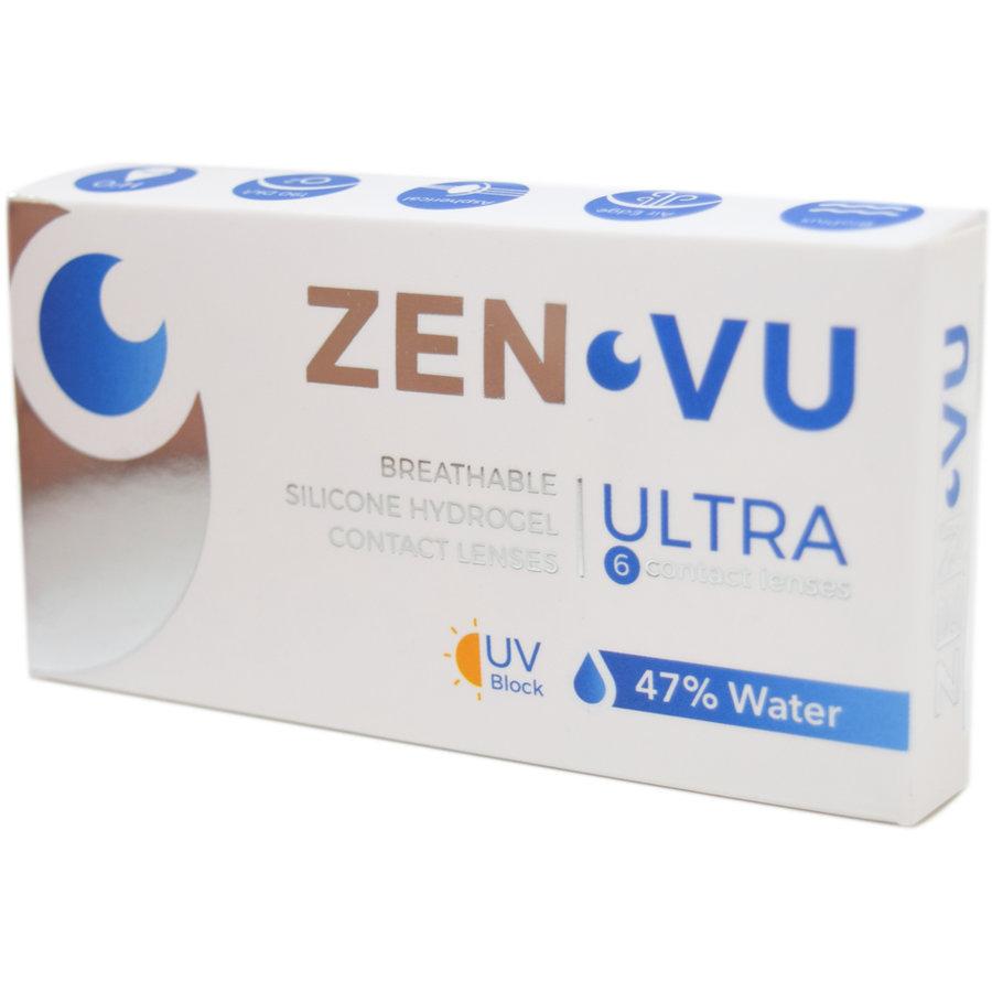 Lentile de contact cu dioptrii Lentile de contact ZenVu Ultra lunare 6 lentile/cutie cu comanda online