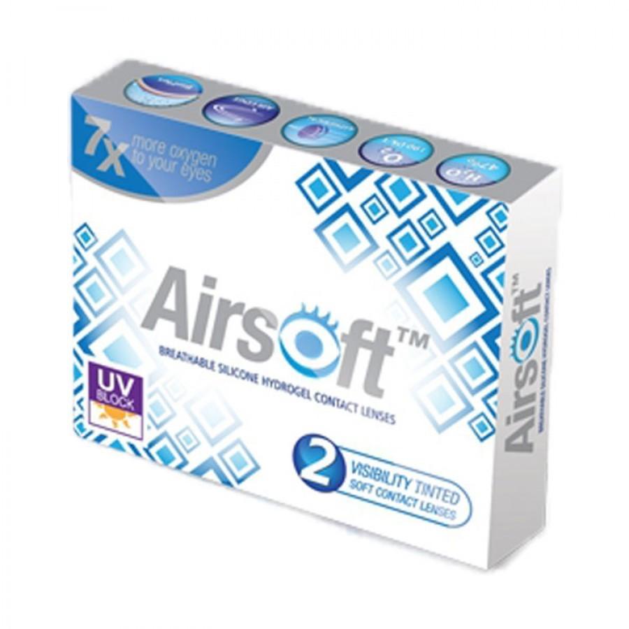 Lentile de contact cu dioptrii Maxvue Vision Airsoft lunare 2 lentile / cutie cu comanda online