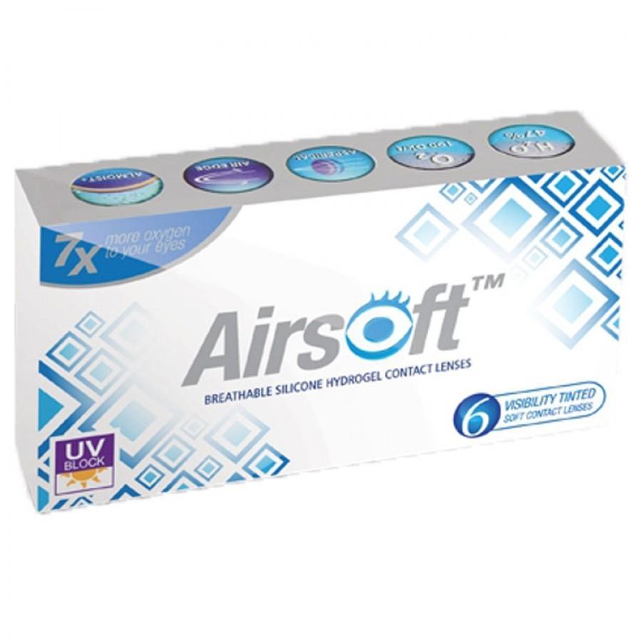 Lentile de contact cu dioptrii Maxvue Vision Airsoft lunare 6 lentile / cutie cu comanda online