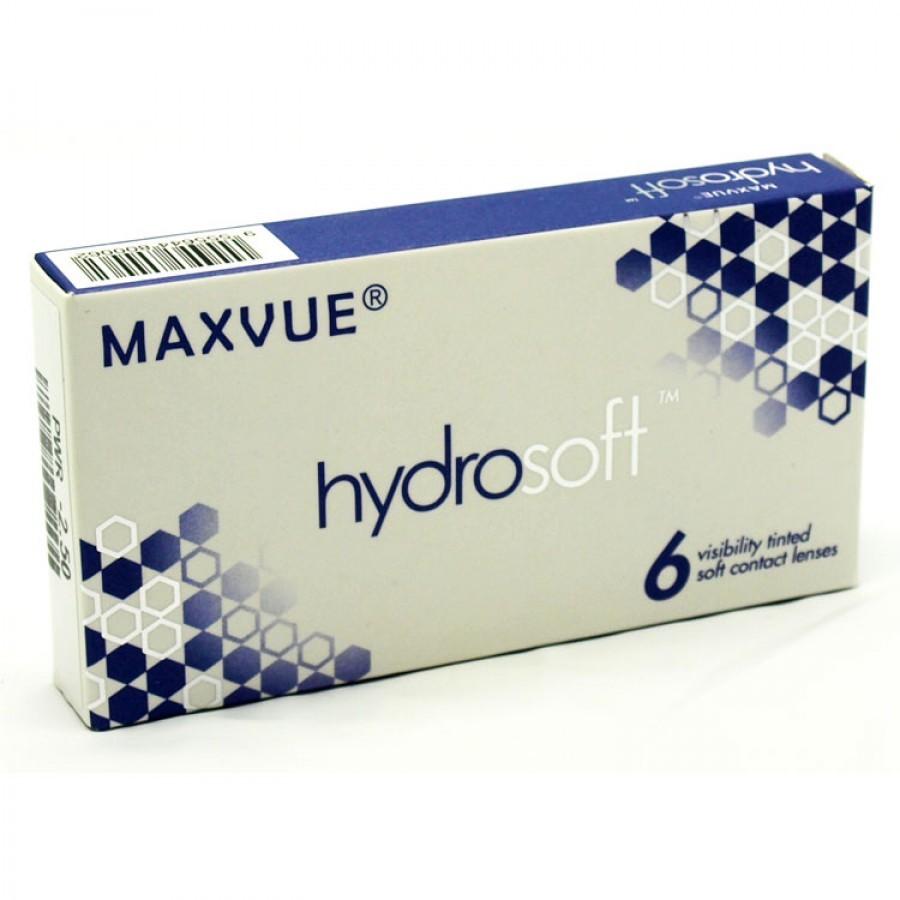 Lentile de contact cu dioptrii Maxvue Vision Max Hydrosoft lunare 6 lentile / cutie cu comanda online