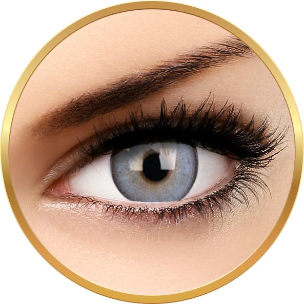 Lumina Sparkling Blue – lentile de contact colorate albastre trimestriale – 90 purtari (2 lentile/cutie) brand ColourVUE cu comanda online