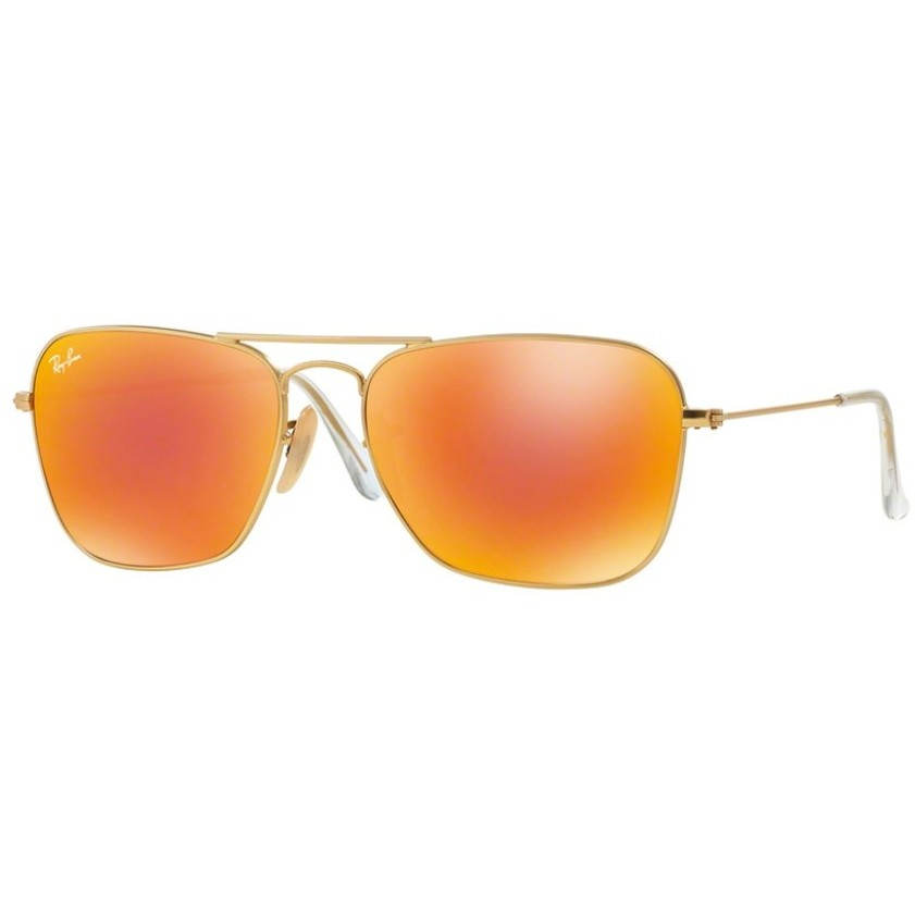 Ochelari de soare barbati Caravan Ray-Ban RB3136 112/69 Rectangulari originali cu comanda online