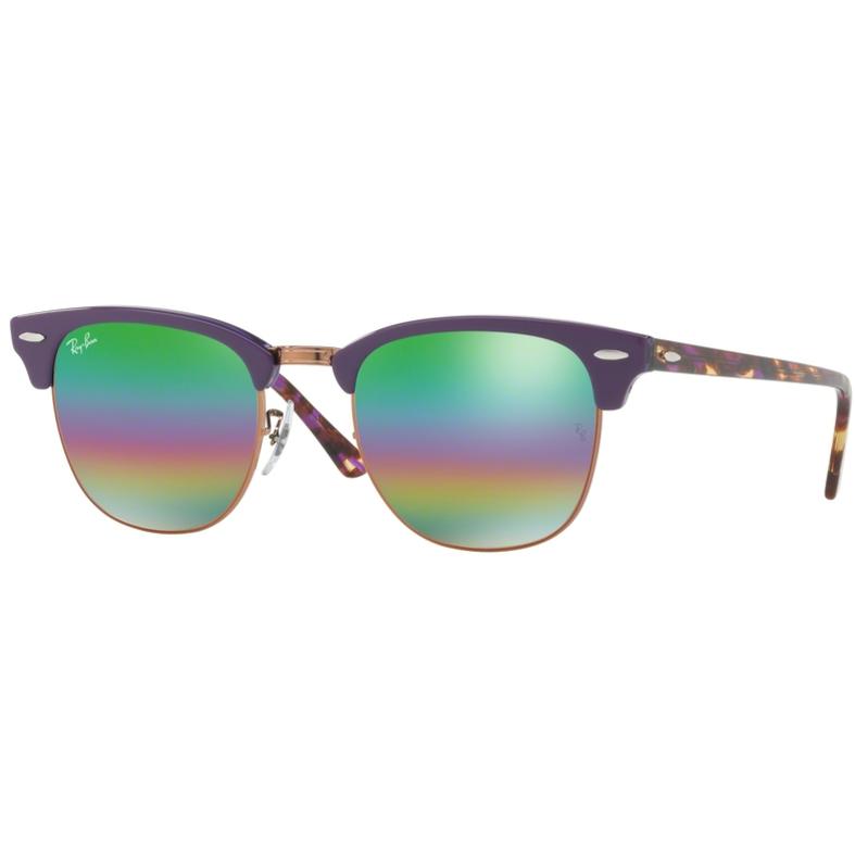 Ochelari de soare barbati Clubmaster Ray-Ban RB3016 1221C3 Browline originali cu comanda online