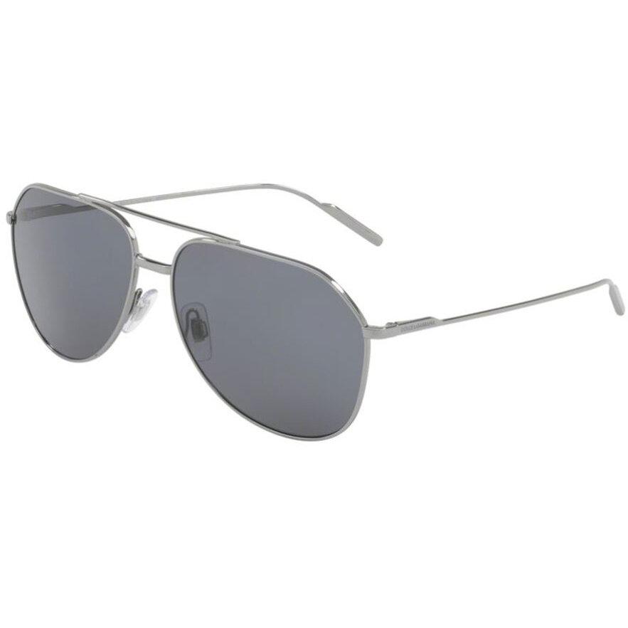 Ochelari de soare barbati Dolce & Gabbana DG2166 04/81 Pilot originali cu comanda online