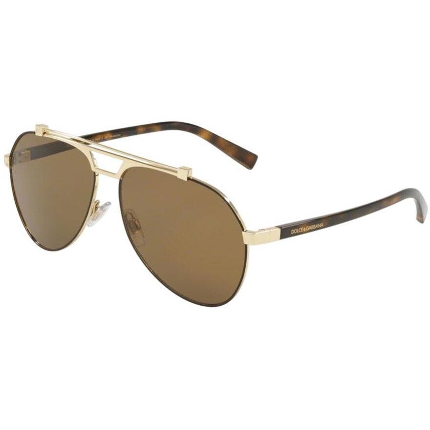 Ochelari de soare barbati Dolce & Gabbana DG2189 132083 Pilot originali cu comanda online