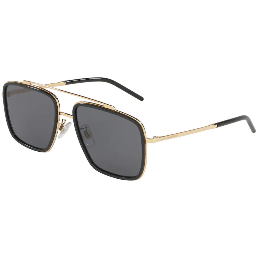 Ochelari de soare barbati Dolce & Gabbana DG2220 02/81 Patrati originali cu comanda online