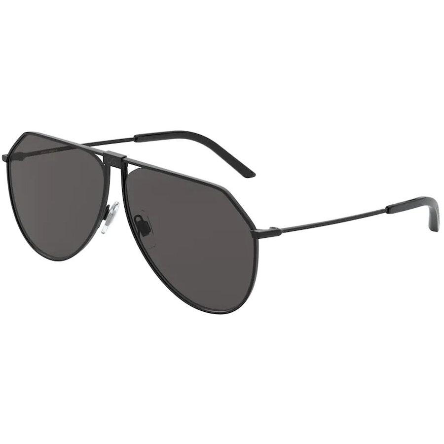 Ochelari de soare barbati Dolce & Gabbana DG2248 110687 Pilot originali cu comanda online
