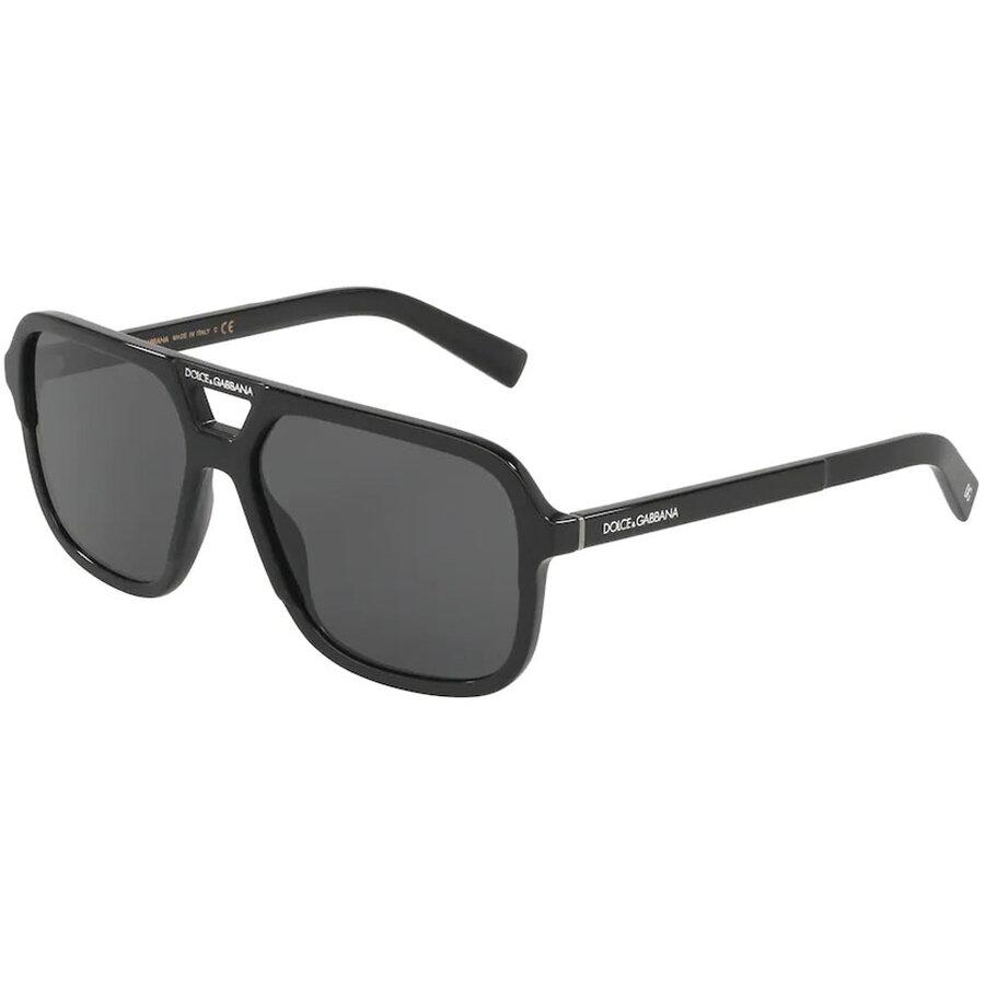 Ochelari de soare barbati Dolce & Gabbana DG4354 501/87 Patrati originali cu comanda online