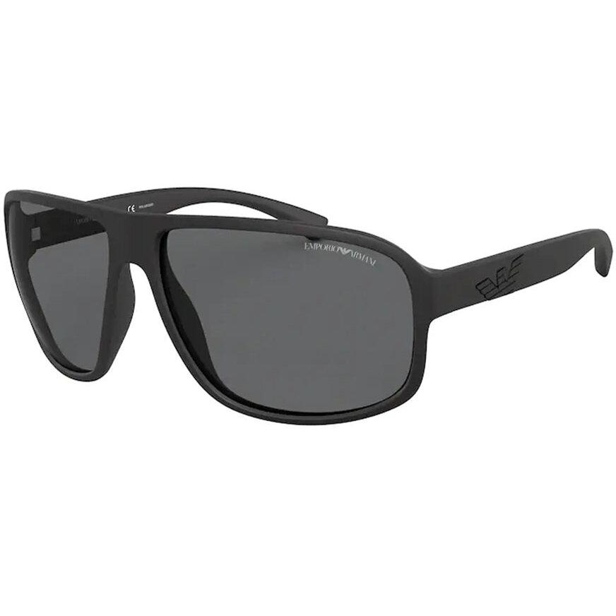 Ochelari de soare barbati Emporio Armani EA4130 504281 Supradimensionati originali cu comanda online