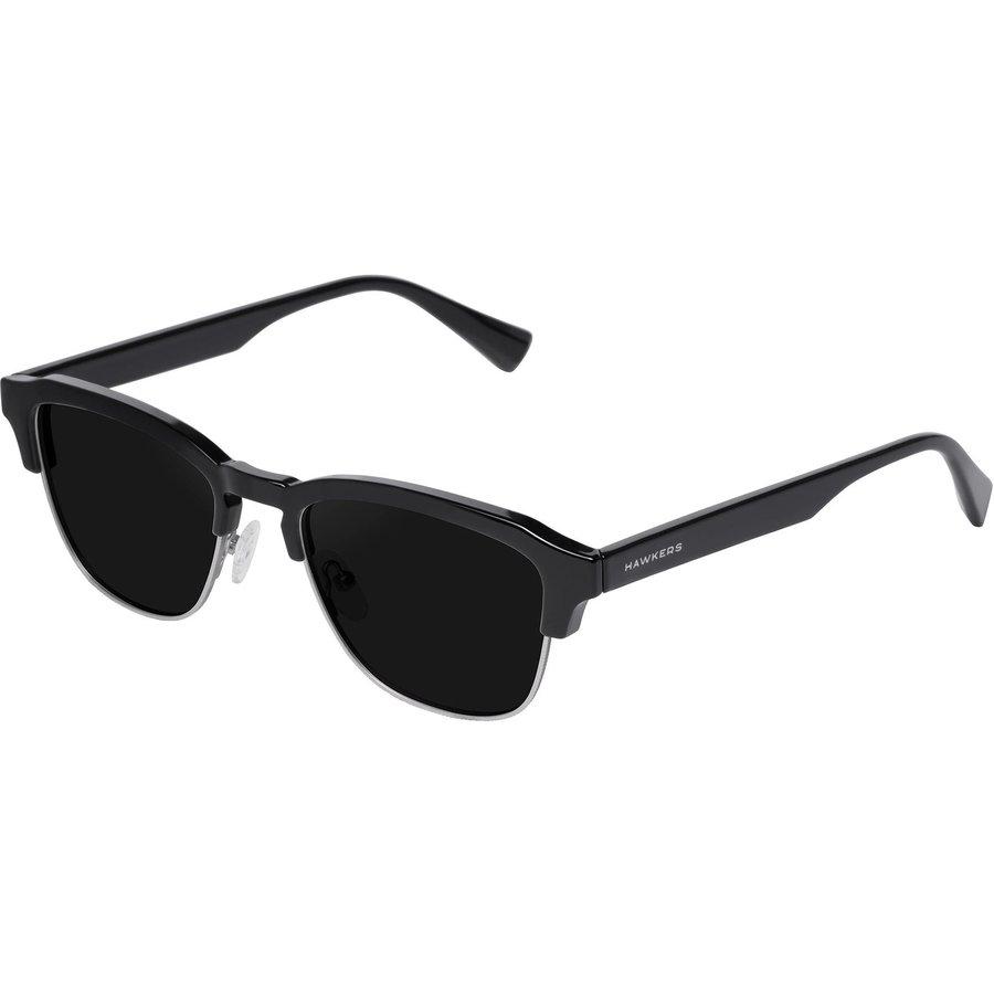 Ochelari de soare barbati Hawkers CLATR01 Diamond Black Dark Classic Browline originali cu comanda online