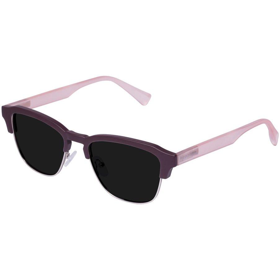 Ochelari de soare barbati Hawkers CLATR04 Burgundy Pink Dark Classic Browline originali cu comanda online