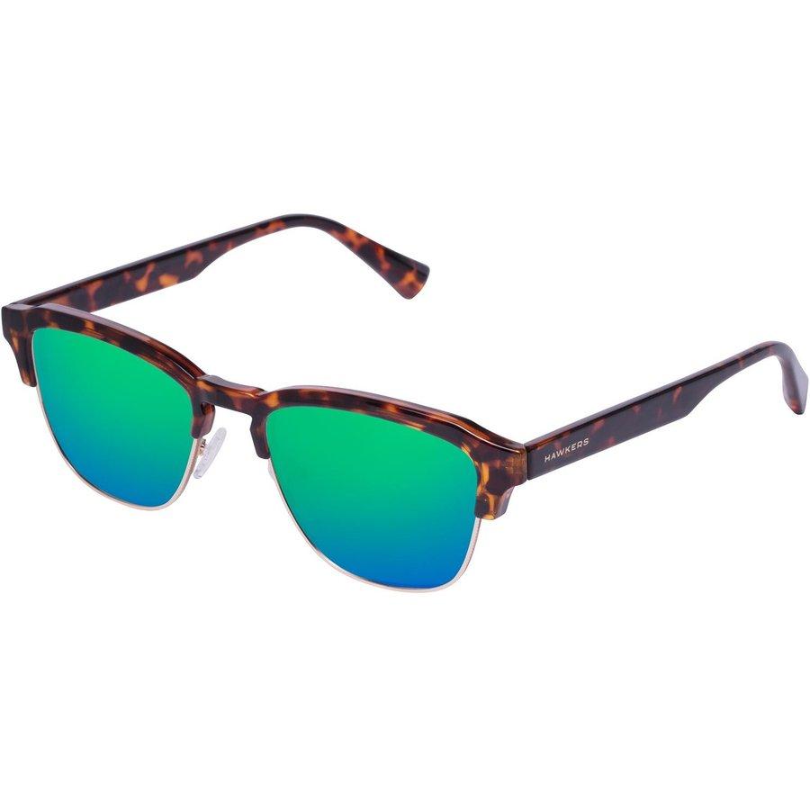 Ochelari de soare barbati Hawkers CLATR06 Carey Emerald Classic Browline originali cu comanda online