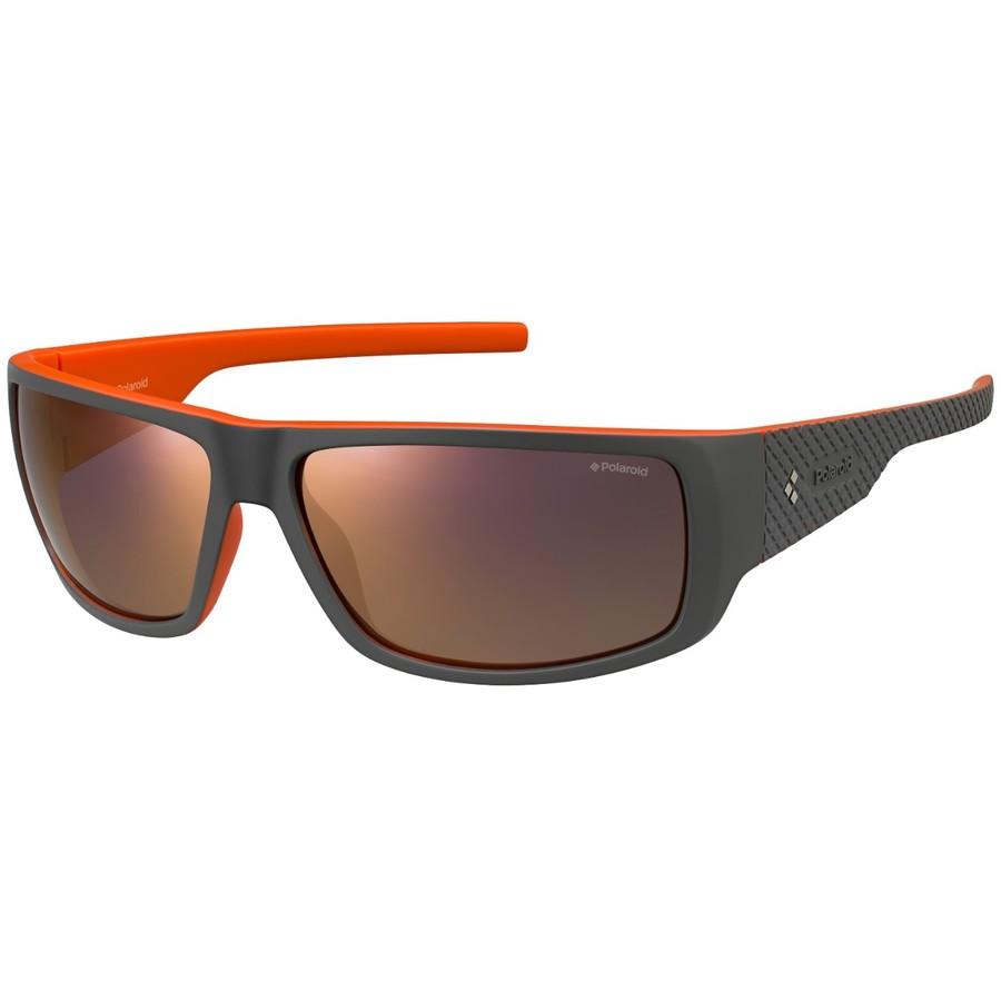 Ochelari de soare barbati POLAROID17 PLD 7006/S VUR OZ Wrap-around originali cu comanda online