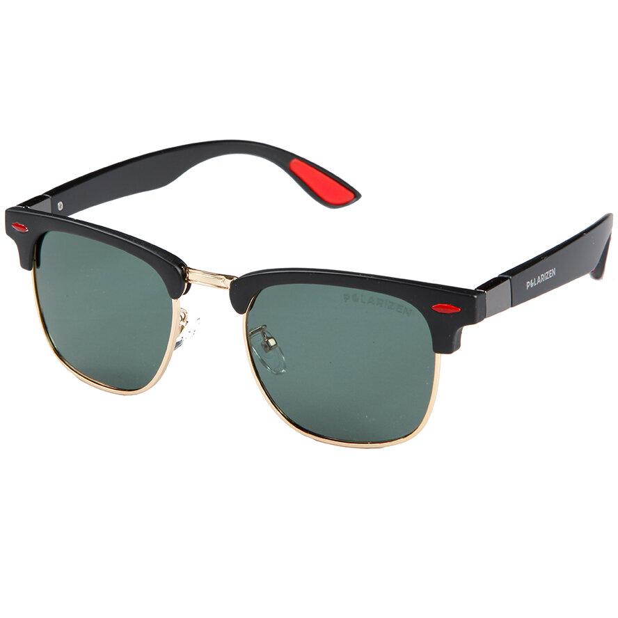 Ochelari de soare barbati Polarizen 2851 Browline originali cu comanda online