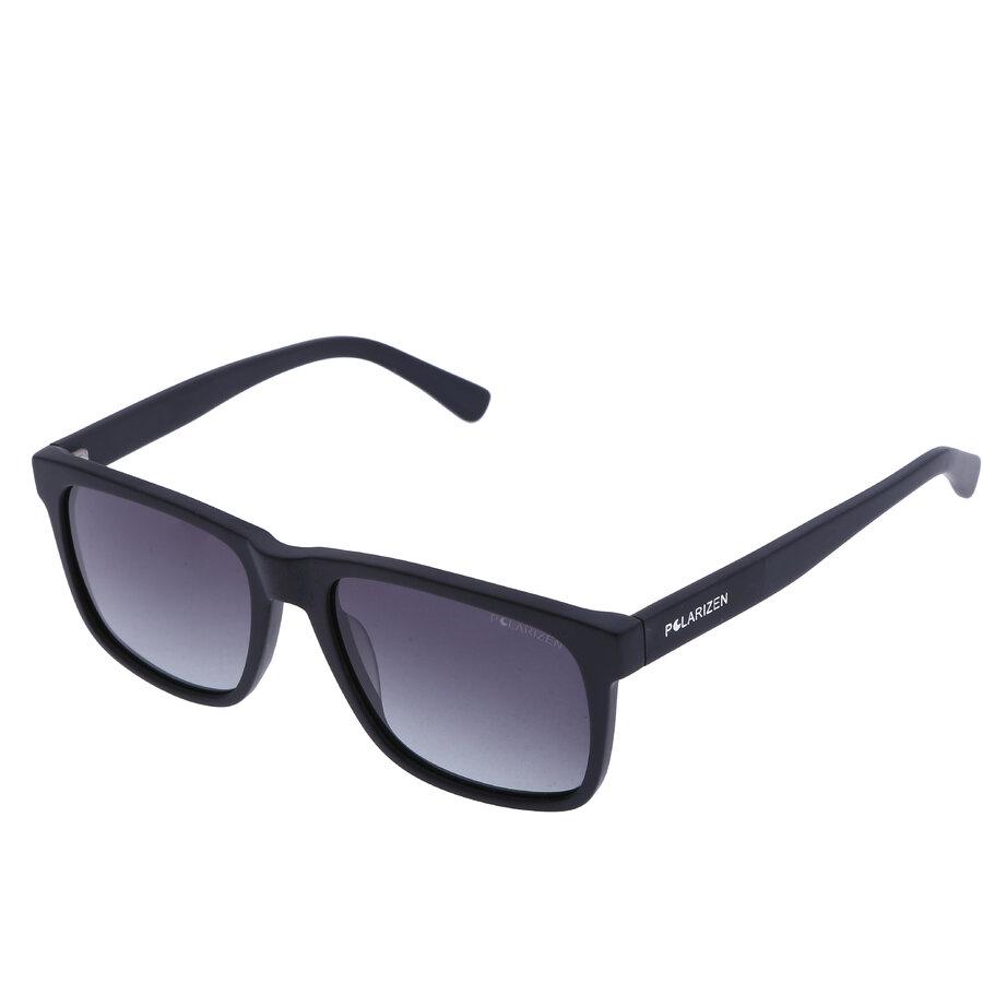 Ochelari de soare barbati Polarizen VS8041 C1 M.BLACK Rectangulari originali cu comanda online