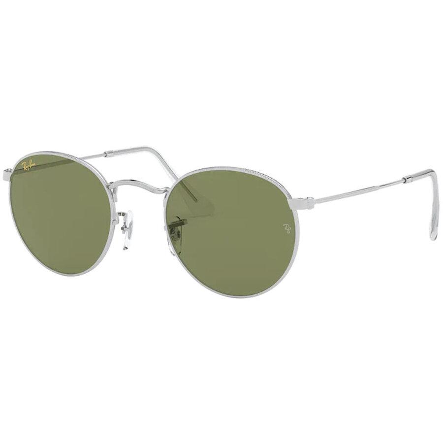 Ochelari de soare barbati Ray-Ban RB3447 91984E Rotunzi originali cu comanda online