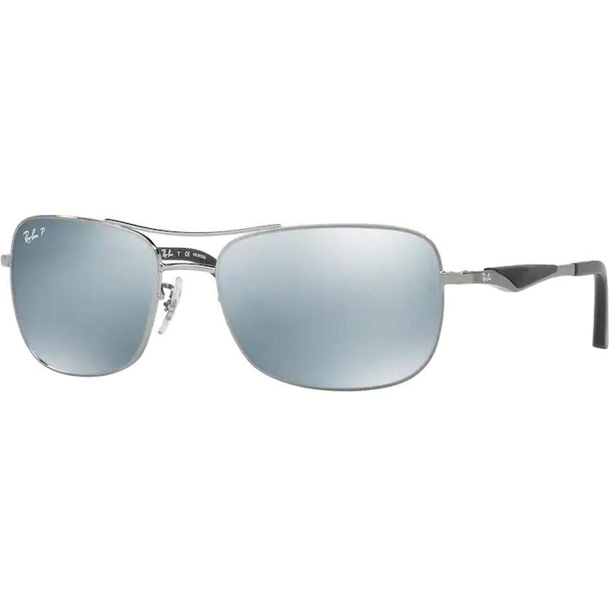 Ochelari de soare barbati Ray-Ban RB3515 004/Y4 Rectangulari originali cu comanda online
