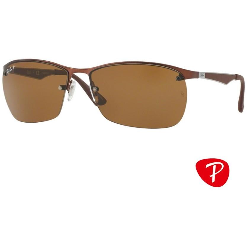 Ochelari de soare barbati Ray-Ban RB3550 012/83 Rectangulari originali cu comanda online