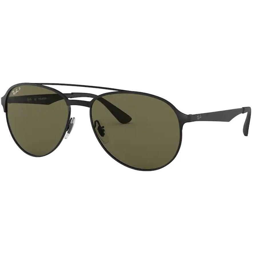 Ochelari de soare barbati Ray-Ban RB3606 186/9A Pilot originali cu comanda online